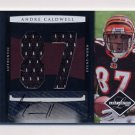 2008 Leaf Limited Rookie Jumbo Jerseys Autographs Jersey Number #33 Andre Caldwell RC /15