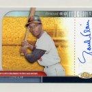 2003 Finest Moments Refractors Autographs #FMAPB Paul Blair - Baltimore Orioles AUTO