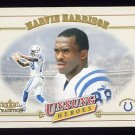 2001 Fleer Tradition Football #318 Marvin Harrison - Indianapolis Colts