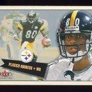 2001 Fleer Tradition Football #261 Plaxico Burress - Pittsburgh Steelers