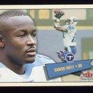 2001 Fleer Tradition Football #207 Samari Rolle - Tennessee Titans