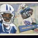 2001 Fleer Tradition Football #165 Derrick Mason - Tennessee Titans