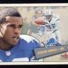 2001 Fleer Tradition Football #160 Germane Crowell - Detroit Lions