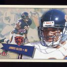 2001 Fleer Tradition Football #099 James Allen - Chicago Bears