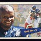 2001 Fleer Tradition Football #094 Freddie Jones - San Diego Chargers
