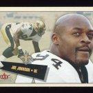 2001 Fleer Tradition Football #080 Joe Johnson - New Orleans Saints