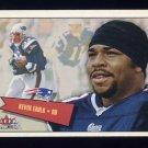 2001 Fleer Tradition Football #062 Kevin Faulk - New England Patriots