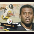 2001 Fleer Tradition Football #055 Troy Edwards - Pittsburgh Steelers