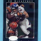 2001 Leaf Certified Materials Football #028 Ed McCaffrey - Denver Broncos
