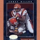 2001 Leaf Certified Materials Football #016 Corey Dillon - Cincinnati Bengals