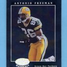 2001 Leaf Certified Materials Football #005 Antonio Freeman - Green Bay Packers
