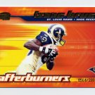 2001 Pacific Invincible Afterburners #16 Isaac Bruce - St. Louis Rams 0564/2000