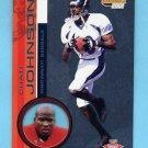 2001 Pacific Invincible Retail Football #261 Chad Johnson RC - Cincinnati Bengals