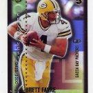 2000 Collector's Edge T3 Edgequest #EQ19 Brett Favre - Green Bay Packers 0418/1000