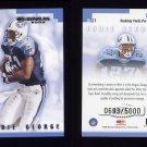 2000 Donruss Football Dominators #D-21 Eddie George - Tennessee Titans 0693/5000
