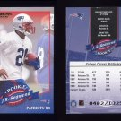 2000 Donruss Football #195 J.R. Redmond RC - New England Patriots 0402/1325
