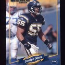 2000 Donruss Football #113 Junior Seau - San Diego Chargers