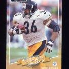 2000 Donruss Football #110 Jerome Bettis - Pittsburgh Steelers