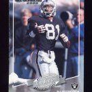 2000 Donruss Football #103 Tim Brown - Oakland Raiders