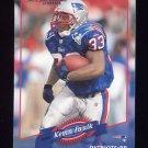 2000 Donruss Football #089 Kevin Faulk - New England Patriots