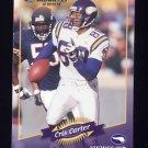 2000 Donruss Football #084 Cris Carter - Minnesota Vikings