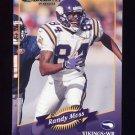 2000 Donruss Football #082 Randy Moss - Minnesota Vikings