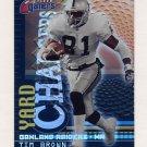 2000 Fleer Gamers Yard Chargers #04 Tim Brown - Oakland Raiders