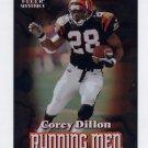 2000 Fleer Mystique Running Men #02 Corey Dillon - Cincinnati Bengals