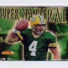 2000 Fleer Showcase Super Natural #08 Brett Favre - Green Bay Packers