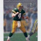2000 Metal Football #158 Brett Favre - Green Bay Packers