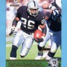 2000 Pacific Gold #275 Napoleon Kaufman - Oakland Raiders 135/199