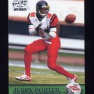 2000 Pacific Football #435 Jerry Porter RC