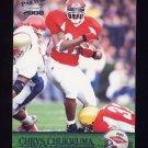 2000 Pacific Football #409 Chrys Chukwuma RC