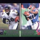 2000 Pacific Football #396 Obafemi Ayanbadejo RC / Lennox Gordon RC