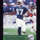 2000 Pacific Football #376 Kevin Dyson - Tennessee Titans