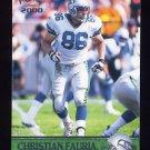 2000 Pacific Football #352 Christian Fauria - Seattle Seahawks