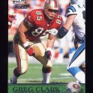 2000 Pacific Football #336 Greg Clark - San Francisco 49ers