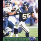 2000 Pacific Football #332 Junior Seau - San Diego Chargers