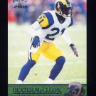 2000 Pacific Football #316 Dexter McCleon RC - St. Louis Rams