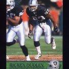 2000 Pacific Football #271 Rickey Dudley - Oakland Raiders
