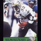 2000 Pacific Football #232 Wilmont Perry - New Orleans Saints