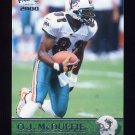 2000 Pacific Football #197 O.J. McDuffie - Miami Dolphins