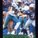 2000 Pacific Football #196 Tony Martin - Miami Dolphins