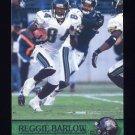 2000 Pacific Football #160 Reggie Barlow - Jacksonville Jaguars