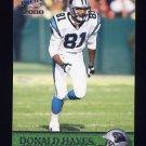 2000 Pacific Football #053 Donald Hayes - Carolina Panthers