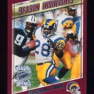 2000 Topps Season Opener Football #178 Marshall Faulk - St. Louis Rams