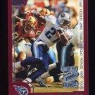 2000 Topps Season Opener Football #092 Eddie George - Tennessee Titans