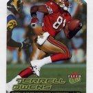 2000 Ultra Gold Medallion #173 Terrell Owens - San Francisco 49ers