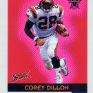 2000 Vanguard Premiere Date #009 Corey Dillon - Cincinnati Bengals 028/138