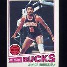 1977-78 Topps Basketball #114 Junior Bridgeman - Milwaukee Bucks